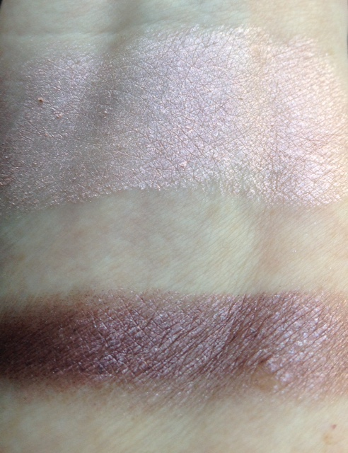 elf Smudge Pot cream eyeshadow swatches, Ain't That Sweet & Wine Not neversaydiebeauty.com @redAllison