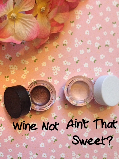 elf Smudge Pots cream eyeshadows, Wine Not, Ain't That Sweet neversaydiebeauty.com @redAllison