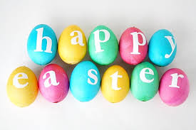 Happy Easter eggs