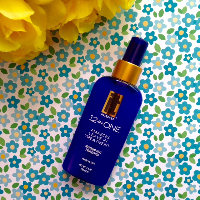 review of IT Haircare 12-in-One Leave-In Treatment neversaydiebeauty.com @redAllison