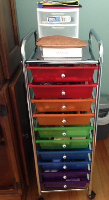 10 drawer storage unit neversaydiebeauty.com @redAllison