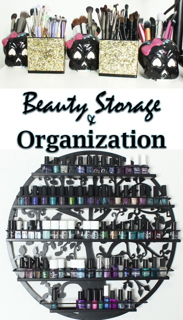 Phyrra's beauty storage organization ideas