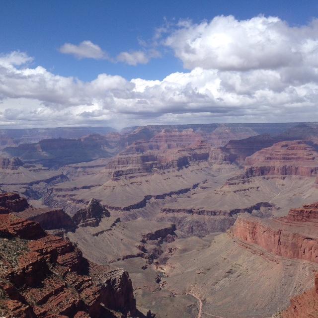 Grand Canyon big sky neversaydiebeauty.com
