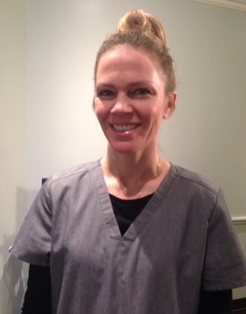 medical aesthetician, Jill F., at Bella Sante Spa Boston neversaydiebeauty.com @redAllison