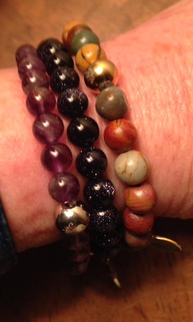 Joseph Nogucci beaded bracelets neversaydiebeauty.com @redAllison