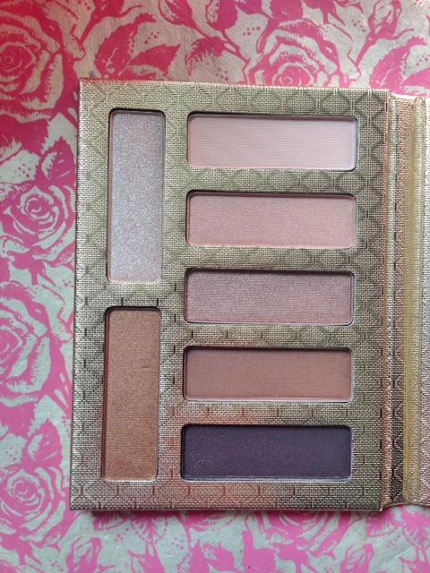 closeup of Lorac Riseling Romance Eyeshadow Palette shades neversaydiebeauty.com @redAllison