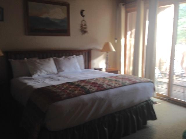 master bedroom, Junipine Resort Sedona AZ neversaydiebeauty.com