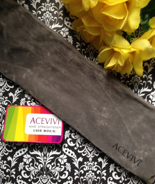 ACEVIVI Hair Straightener Brush travel bag neversaydiebeauty.com @redAllison