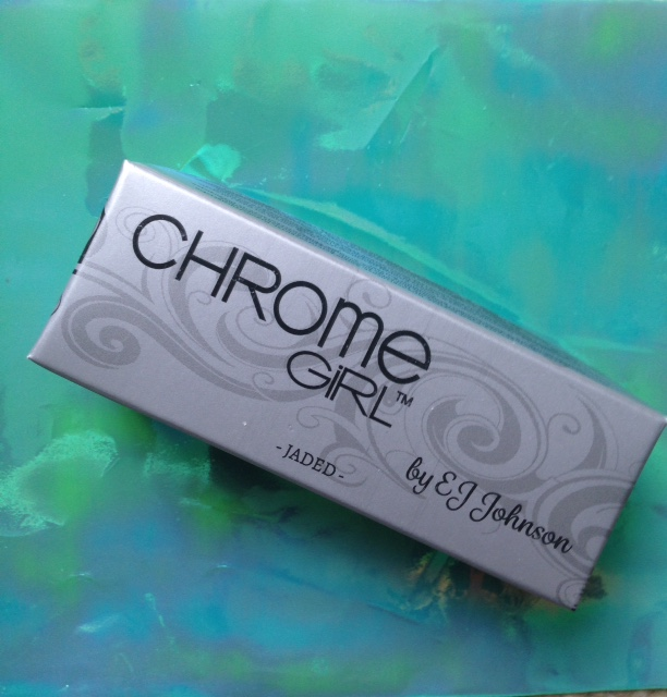 Chrome Girl limited edition JADED nail polish box neversaydiebeauty.com @redAllison