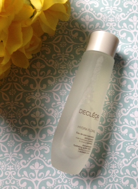 Decleor Hydra Floral Anti-Pollution Active Lotion bottle neversaydiebeauty.com @redAllison