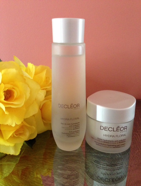 Decleor Hydra Floral Anti-Pollution Active Lotion & Gel-Cream neversaydiebeauty.com @redAllison