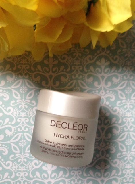 Decleor Hydra Floral Anti-Pollution Gel Cream jar neversaydiebeauty.com @redAllison
