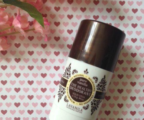 LaVanila The Healthy Deodorant Pure Vanilla scent neversaydiebeauty.com @redAllison