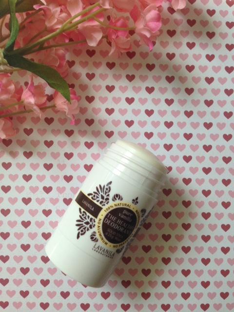 LaVanila The Healthy Deodorant, Pure Vanilla scent open top neversaydiebeauty.com @redAllison