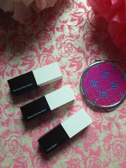 RealHer black & white tubes of lipstick neversaydiebeauty.com @redAllison