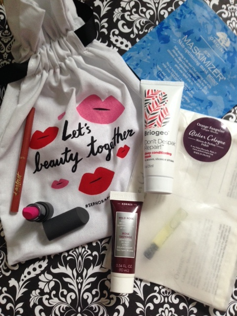 Sephora Play! beauty box goodies May 2016 neversaydiebeauty.com @redAllison