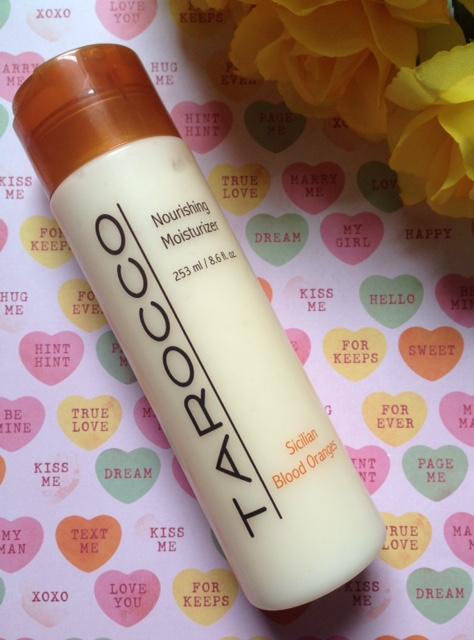 Tarocco Nourishing Moisturizer body lotion neversaydiebeauty.com @redAllison
