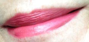 "Tarte-LipSurgence-Creme lipstick lip swatch ""Wonder"" neversaydiebeauty.com @redAllison"