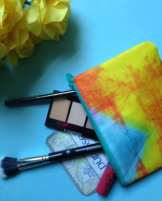 ipsy bag, Dreamers, April 2016 makeup bag and contents neversaydiebeauty.com @redAllison