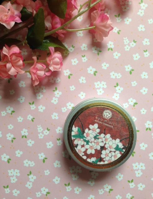 kyo miori Tahada handcream in cherry blossom scent neversaydiebeauty.com @redAllison