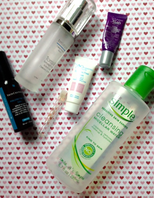 empty skincare products April 2016 neversaydiebeauty.com @redAllison