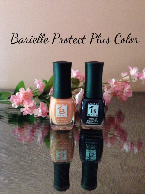 Barielle Protect Plus Color Nail Polish: Blossom & Edgy neversaydiebeauty.com @redAllison