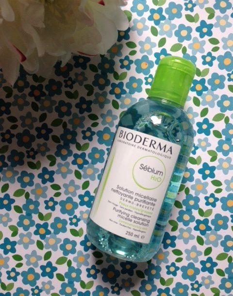 Bioderma Sebium Micellar Water for oily skin neversaydiebeauty.com @redAllison