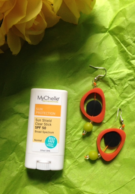 MyChelle Sun Shield Clear Stick SPF 50 neversaydiebeauty.com @redAllison