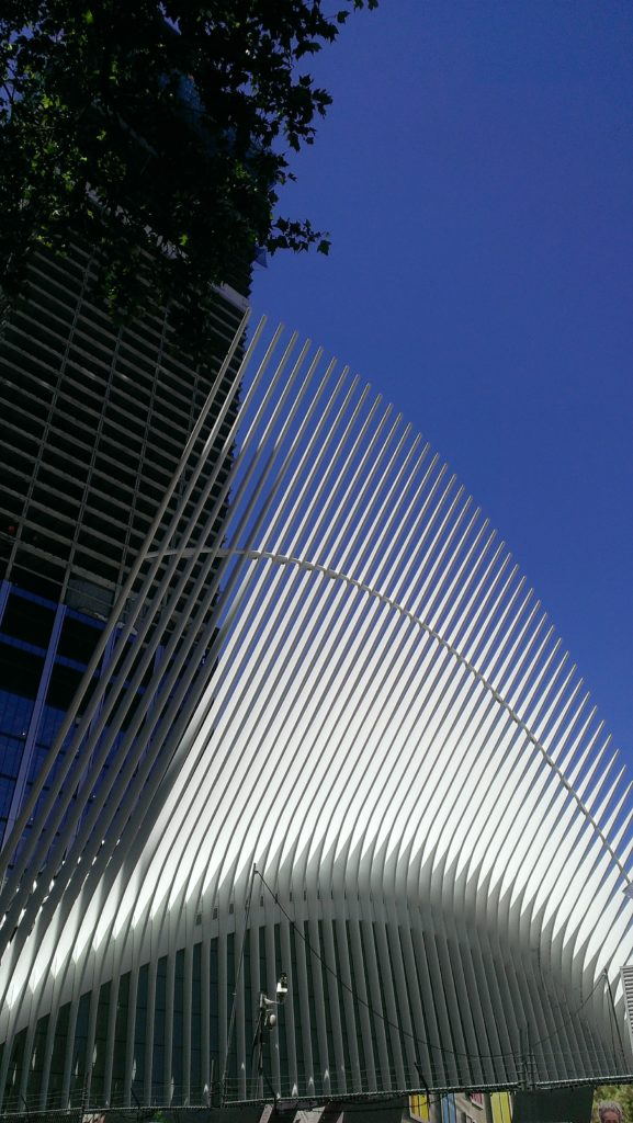 World Trade Center Transportation Center wing neversaydiebeauty.com
