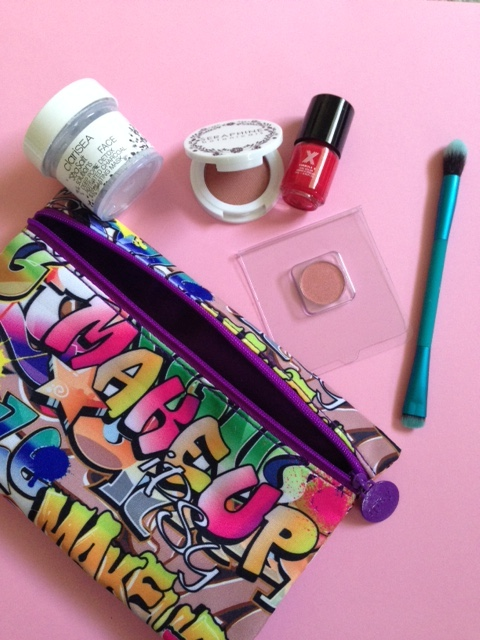 ipsy Rebel Rebel makeup bag and contents June 2016 neversaydiebeauty.com @redAllison