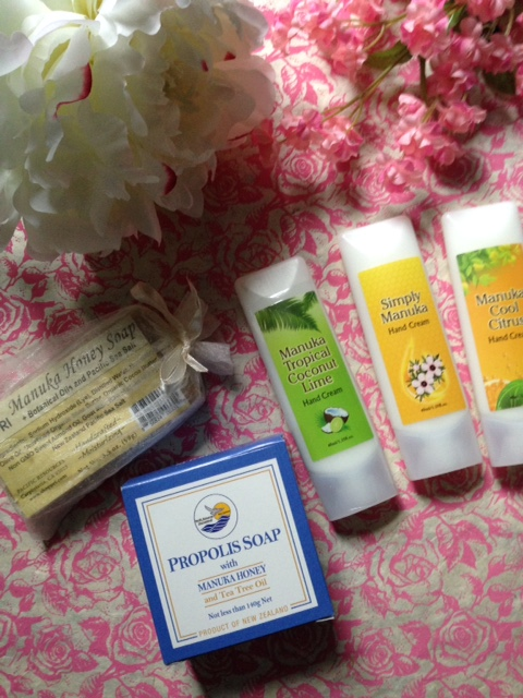 Manuka Honey skincare products - hand creams and soaps - from Pacific Resources International neversaydiebeauty.com @redAllison