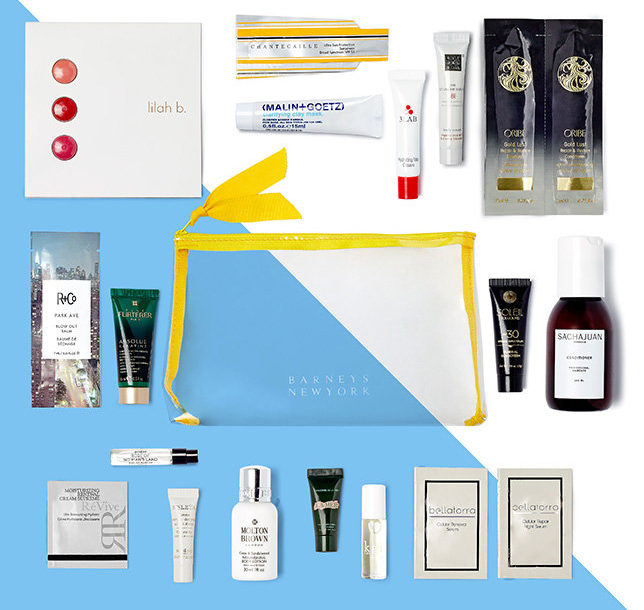 Barney's NY Summer Beauty Event, beauty bag gift with purchase