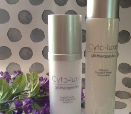 Cyto-luxe Light Moisture and Toning Mist bottles neversaydiebeauty.com @redAllison