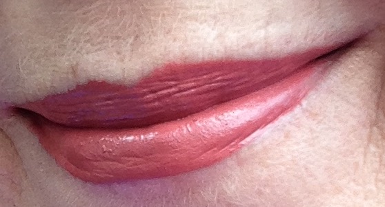Fiona Stiles Ultrasuede High Intensity Lip Color in Lenox on my lips neversaydiebeauty.com @redAllison