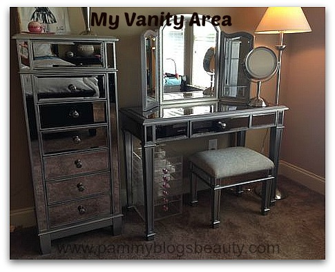 Pammy Blogs Beauty's makeup room and storage solutions