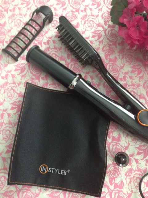 InStyler Max hair straightener and accessories neversaydiebeauty.com @redAllison
