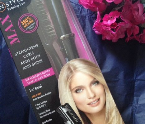 InStyler Max hair straightening device and packaging neversaydiebeauty.com @redAllison