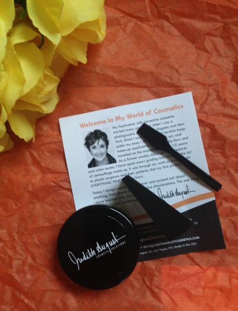 Judith August Orange Masking Creme concealer neversaydiebeauty.com @redAllison