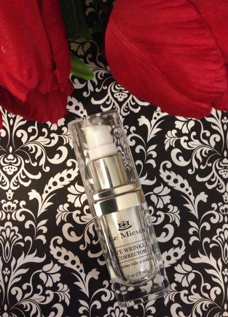 Le Mieux Eye Wrinkle Corrector pump bottle neversaydiebeauty.com @redAllison