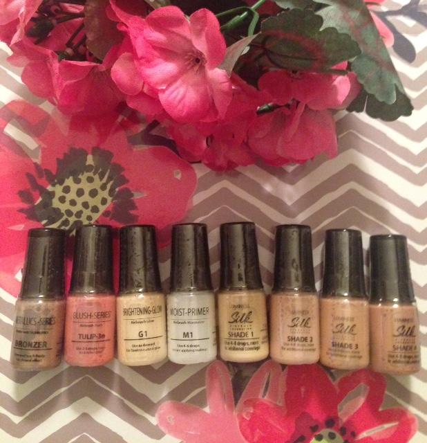Luminess Silk foundation and makeup neversaydiebeauty.com @redAllison