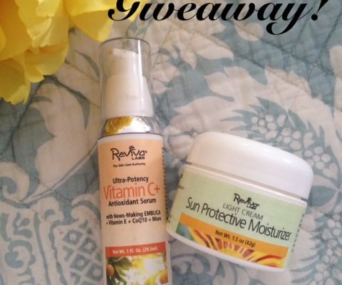 Giveaway from Reviva Labs Skincare with 6 winners neversaydiebeauty.com
