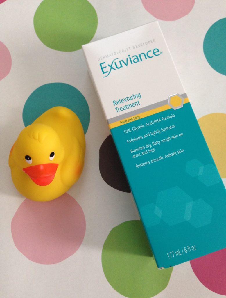 Exuviance Retexturing Treatment box neversaydiebeauty.com