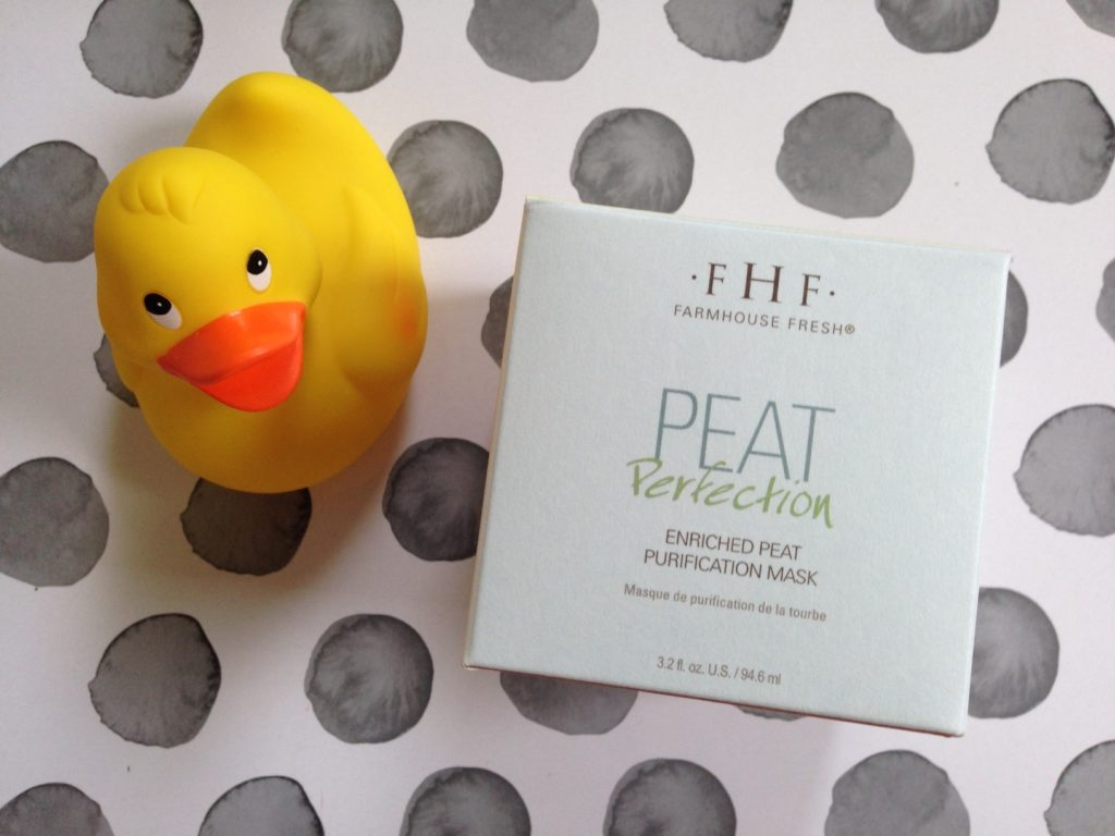 Farmhouse Fresh Peat Purification Mask boxtop neversaydiebeauty.com