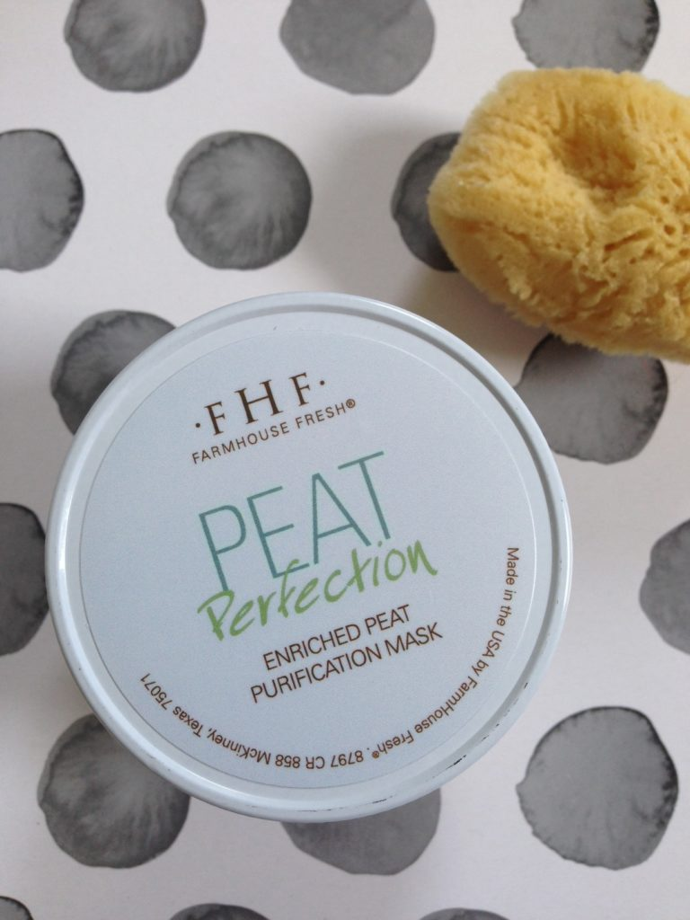 Farmhouse Fresh Peat Purification Mask jar top neversaydiebeauty.com