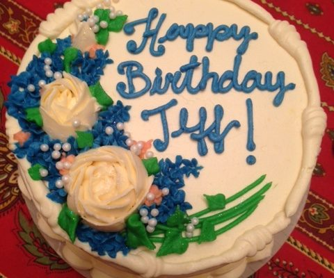 Jeff's birthday cake 2016 neversaydiebeauty.com