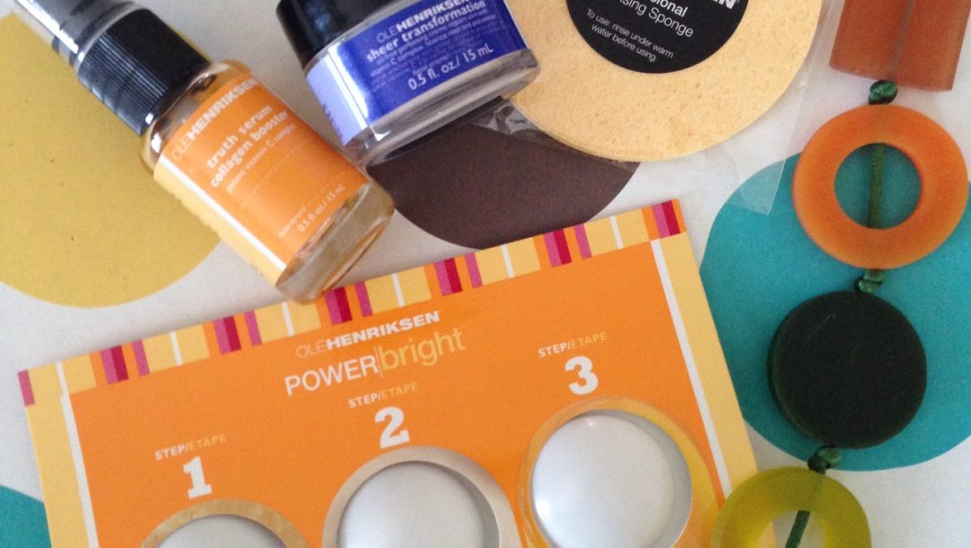 Ole Henriksen Skincare PowerBright products with vitamin C for brightening neversaydiebeauty.com