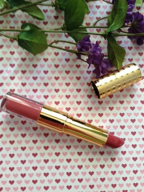 Tarte Lip Sculptor Sass, open tube to show lipstick bullet neversaydiebeauty.com