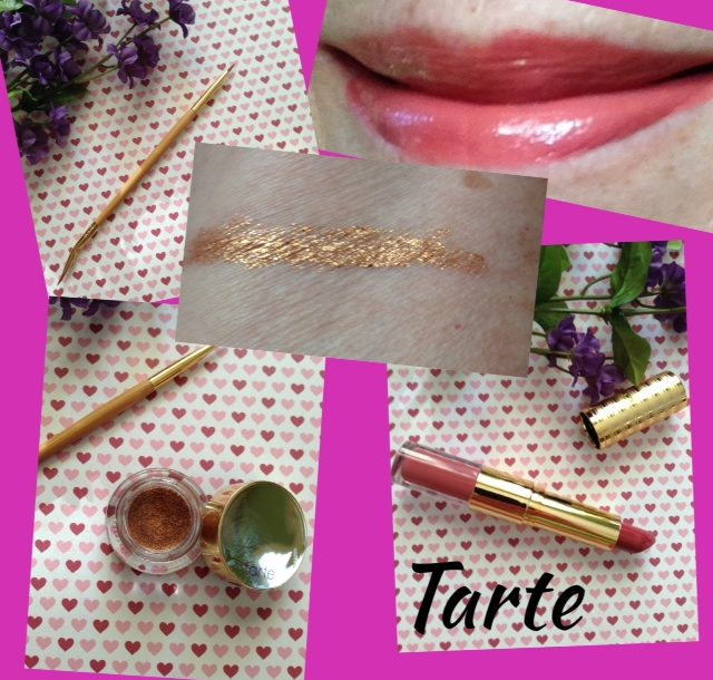 Tarte mini haul: swatches & eyeliner, eyeliner brush and double-ended lipstick/gloss neversaydiebeauty.com