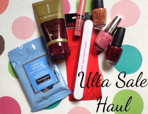 Ulta Labor Day Sale Haul neversaydiebeauty.com
