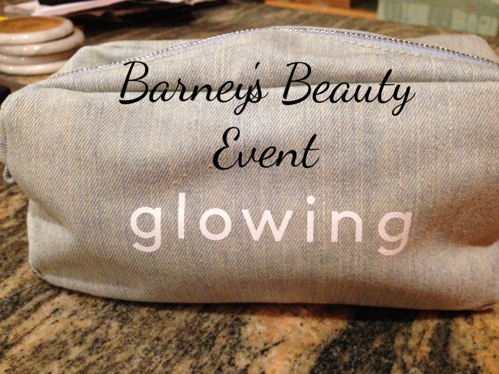 "Barneys Fall 2016 beauty bag ""glowing"" neversaydiebeauty.com"